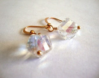 Bling Crystal Earrings Simple Crystal Formal Occasion Wedding Jewelry