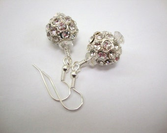 Queen Guineviere Crystal Earrings Brideal Earrings Wedding Jewelry
