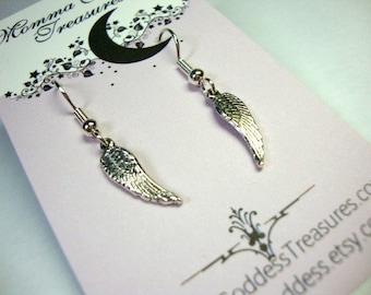 Tiny Angel Wings Earrings