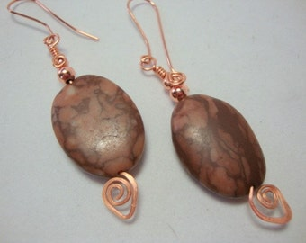 Copper Creation Earrings