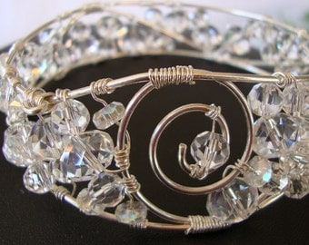 Ice Queen Bracelet Crystal Bangle