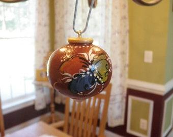 Norwegian Rosemaled Ornament