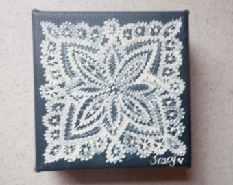 Scandinavian Lace Painting