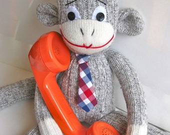 Mister Sockmonkey Means Business