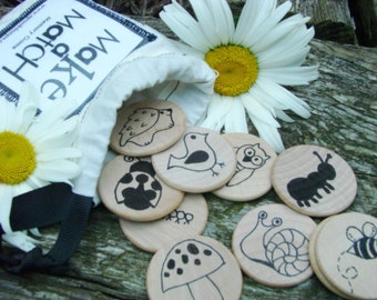 Make a Match - Nature Edition - A Montessori and Waldorf Inspired Matching and Memory Game