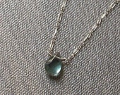 CASSIDY- sterling silver and fluorite necklace