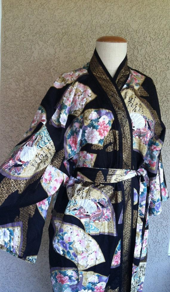 Beautiful Vintage Japanese Kimono Robe