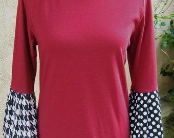 Women's Crimson Skies Flutter T-Shirt