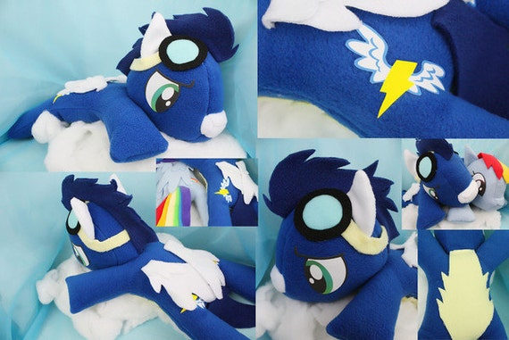 My Little Pony Friendship is Magic LARGE Soarin Plush