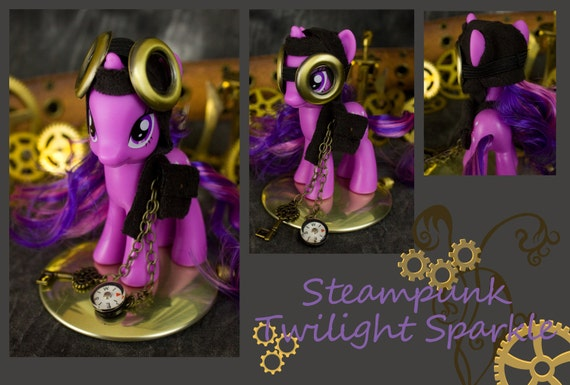 My Little Pony Friendship is Magic Twilight Sparkle custom Steampunk