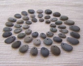 Set of 50 Beach Stone Beads