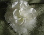 WHITE WEDDING SILK ROSE FLOWER