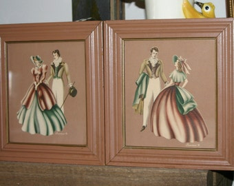 Stunning Victorian Turner Wall Pictures, Pair