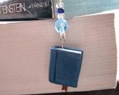 Blue Mini Book Bookmark