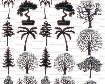 Tree Sepia Decals for Image Transfer Onto Glass Surfaces 32 Trees Learn how to add images to your fused glass art