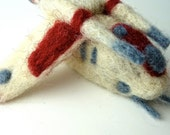 Republic Attack Gunship, Wool Felted STAR WARS ornament, decoration made to order