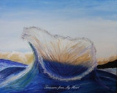 Original Painting Big Splash