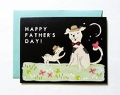 Happy Father's Day Card (A2 size with matching envelope)