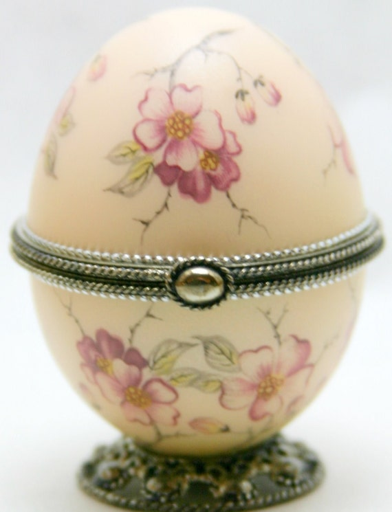 Lady Camille Faberge Style Decorated Egg