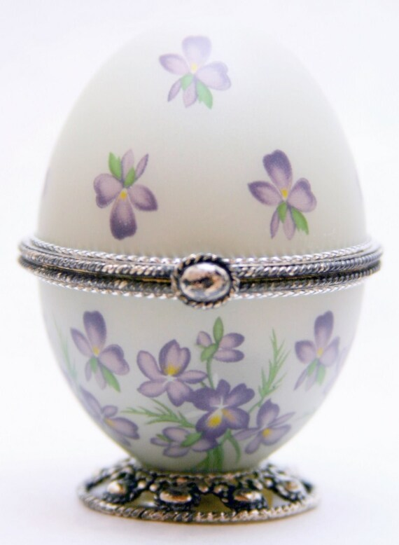Sweet Nicolle Faberge Style Decorated Egg