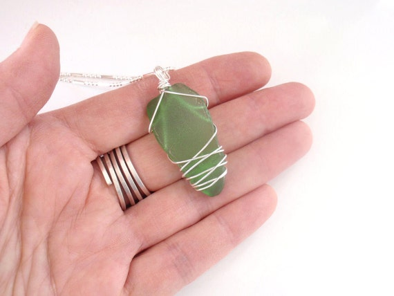 Beach Glass Jewelry, Sea Glass Jewelry, Sea Glass Necklace