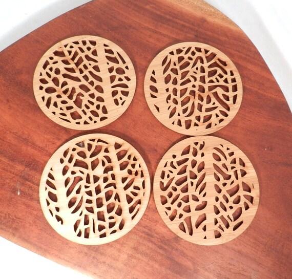 Fan Coral Coasters