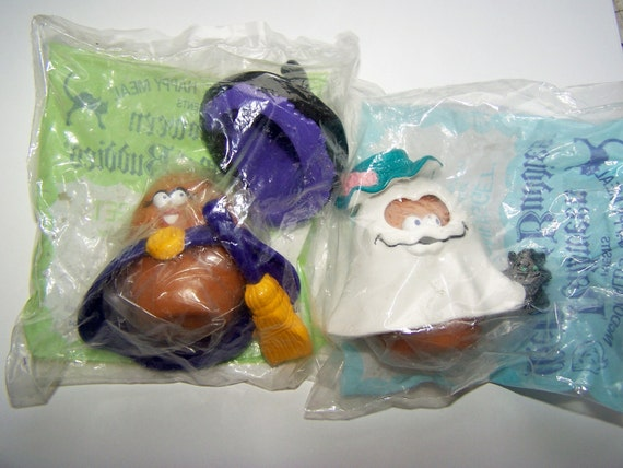 FREE SHIPPING McDonald's Happy Meal presents Halloween McNugget Buddies 2 Sets