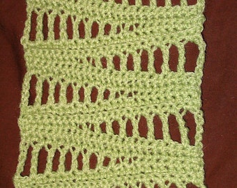 Crochet Scarf Pattern - Zagnut