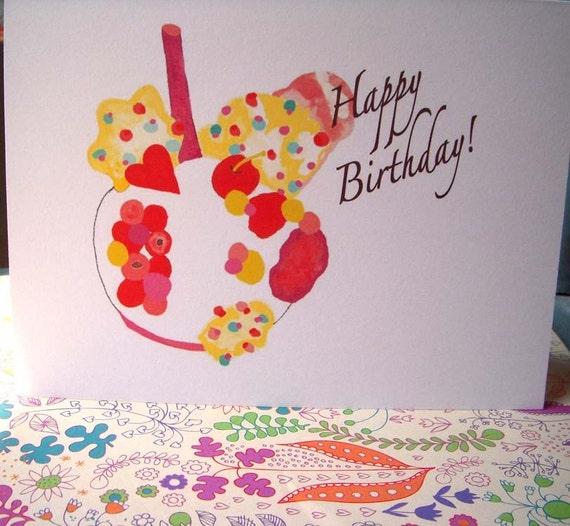 New Happy Birthday Treat By Enjoleuse On Etsy