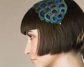 Jade - Feather headband