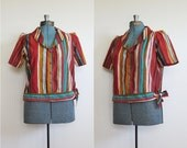 Vintage 1950s Southwest Landscape shirt