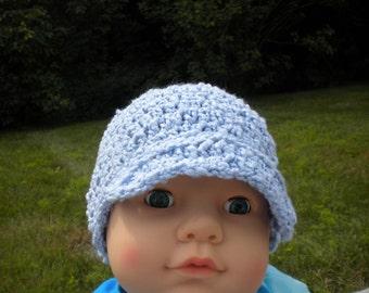 Little Boy Blue Newsboy Hat