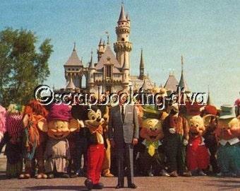 Disney VINTAGE Ephemera Memorabilia Disneyland
