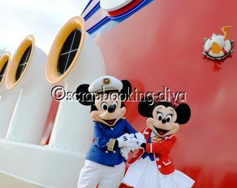 Disney Cruise Photos, perfect for scrapbooking, paper piecing or paper crafting