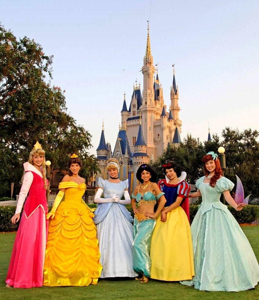 magic kingdom princess dress up