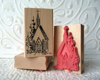 Church rubber stamp from oldislandstamps