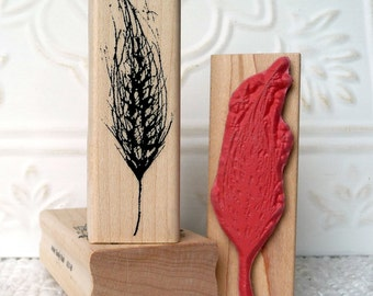 Wheat rubber stamp from oldislandstamps