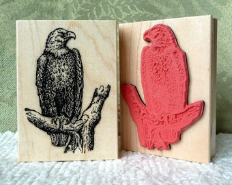 Bald Eagle rubber stamp from oldislandstamps