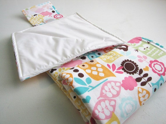 Diaper Changing Pad Roll Up - Custom - Made to Order