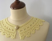 Yellow Lace Collar