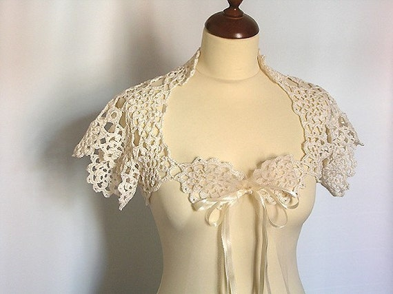 Off White Bridal Shrug
