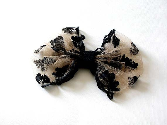 Bow Brooch Lace Brooch