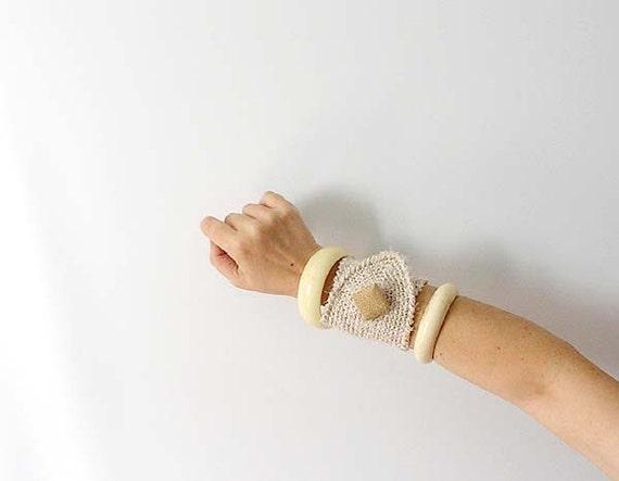 Sand Wrist Cuff - OOAK