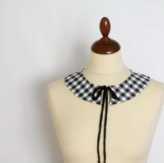 PeterPan Collar  Detachable  ooak