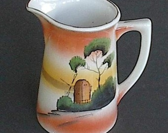 Old Made in Japan Pitcher
