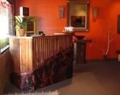 Copper Wet Bar or Reception Desk