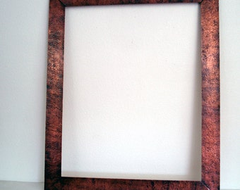 ON SALE!!!! Large Heavy Hammered Copper Frame