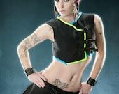 THE QUANTUM MINI Futuristic Cyber Goth Custom Made For U RoBoTIc KiTtY