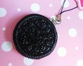Cute Oreo Cookie Phone Charm