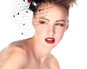 Merry Widow Pillbox Hat